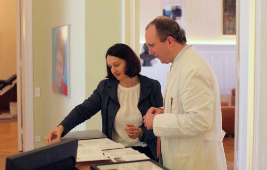Berliner Arztpraxis: Planung für Patientengewinnung